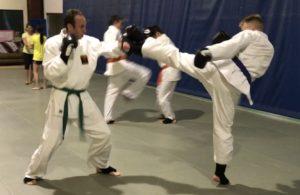 Jiu Jitsu Roswell Kickboxing Class